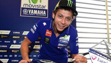 """Rossi, tras el GP Valencia 2008: """"Este circuito da asco"""""""