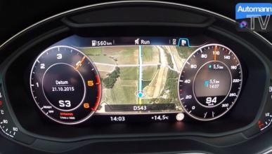 Así pasa de 0 a 100 km/h el Audi A4 Avant V6 3.0 TDI