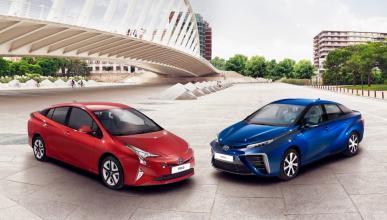 Toyota Prius 2016 y Mirai