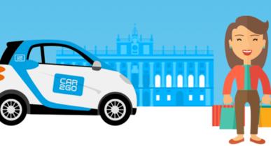 Arranca el 'car sharing' eléctrico que prometió Carmena