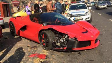 Vídeo: así fue el accidente del LaFerrari en Budapest