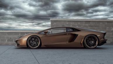 ¡Qué dolor! Este Lamborghini Aventador termina destrozado
