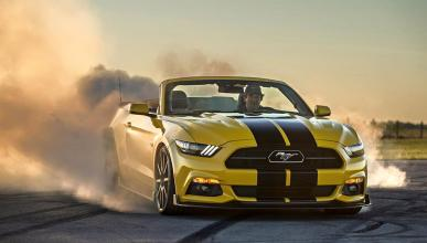 Ford Mustang Cabriolet Hennessey: ¡a 320 km/h sin techo!
