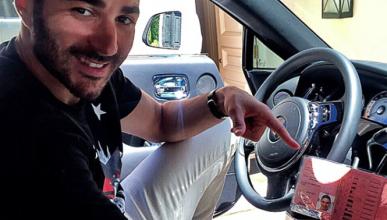 Karim Benzema sí tiene carnet de conducir