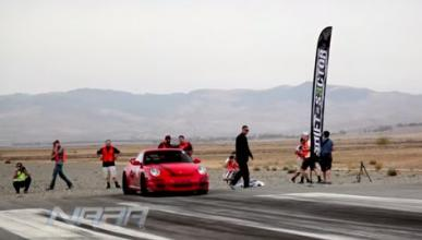 Vídeo: controlar un Porsche GT3 no es fácil...