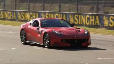 El debut atronador del Ferrari f12tdf en Mugello
