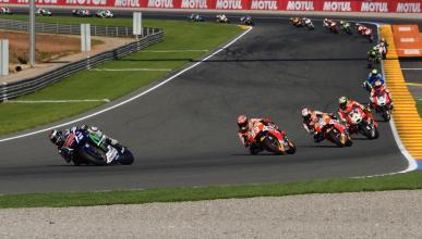 El GP de MotoGP en Cheste, récord histórico de audiencia