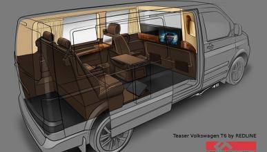 Convierten una VW T6 es una lujosa limusina