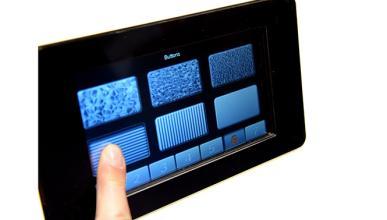 La pantalla que hace perceptibles las imágenes al tacto