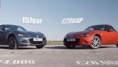 Guerra de motores: ¿qué Mazda MX-5 es el mejor?