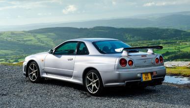 El inolvidable Skyline R34 GT-R