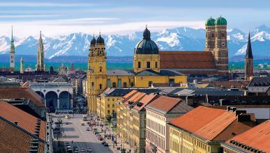 Múnich panorámica