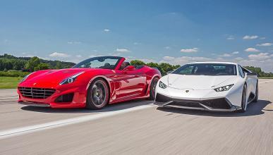 Novitec Ferrari California vs Novitec Lamborghini Huracán