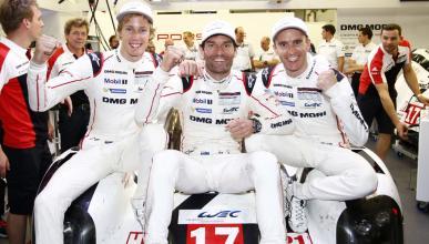 Webber, Bernhard y Hartley, campeones del WEC 2015