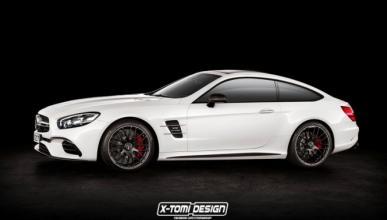 ¿Y si el Mercedes SL fuera un coupé?