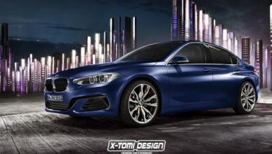 Primer 'render' del BMW Serie 1 sedán: así sería
