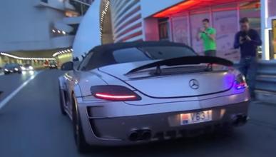 Escucha cómo suena este Mercedes en el túnel de Mónaco