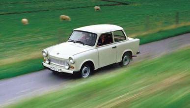 Un Trabant con el motor turbo de un TT...