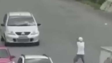 Si te intentan robar el coche, reza porque sean ellos