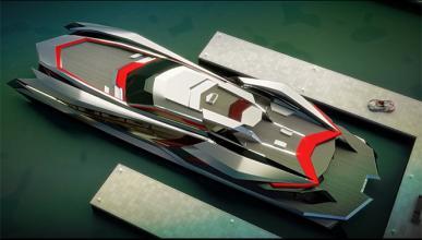 Kraken, el superyate inspirado en un superdeportivo