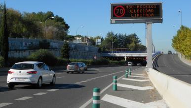 Madrid activa por segunda vez la restricción de velocidad