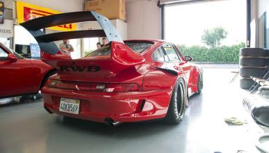 Porsche 993 de Rauh Welt Begriff trasera