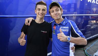 El hermano de Valentino Rossi llega al Mundial de Moto2