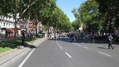 No habrá restricciones de aparcamiento el domingo en Madrid
