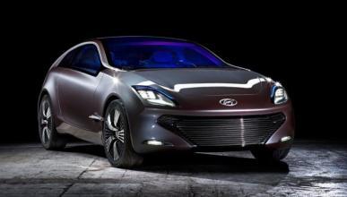 El primer híbrido de Hyundai, ¡cazado!