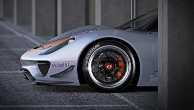 Alucina con esta reinterpretación del Porsche 911
