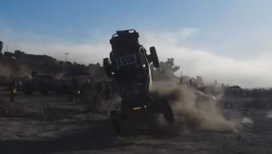 Brutal accidente en la Baja 1000