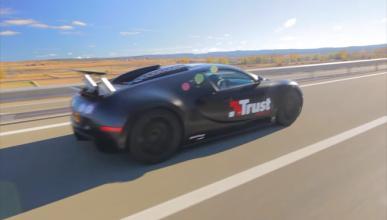 Conduce un 'Bugatti' en el GTA V y pasa esto
