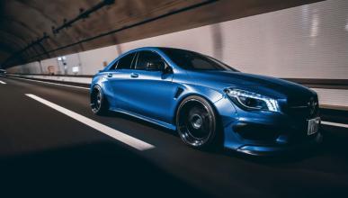 Mercedes CLA Fairy Design dinamica frontal