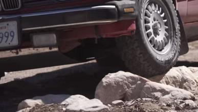 Así de divertido es conducir 'off-road' en un BMW Serie 3
