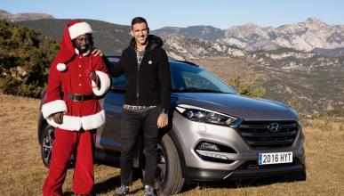 Anuncio navidad Hyundai ajram y papá noel