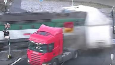 Si chocan un tren y un camión, ¿quién gana?