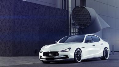 Maserati Ghibli by HS Motorsport tres cuartos delantero