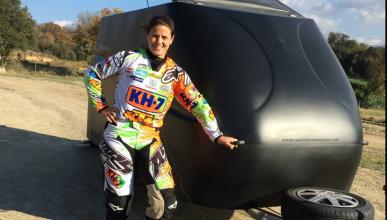 """Laia Sanz: """"intentaré eludir la presión en el Dakar 2016"""""""