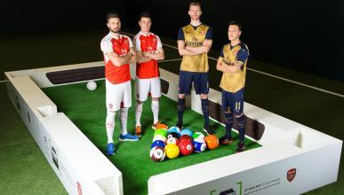 Arsenal FootPool Airbumps