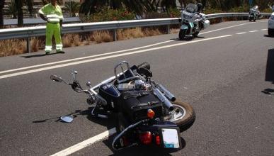 Baja el número de fallecidos en moto, sube el de heridos