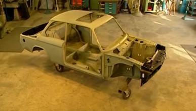 Una restauración perfecta de un BMW 2002