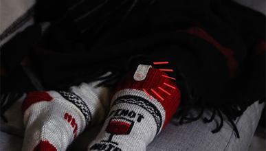Fabrica tus calcetines para no dormirte viendo la tele