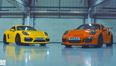 La radicalidad 'by Porsche': Cayman GT4 'vs' 911 GT3 RS