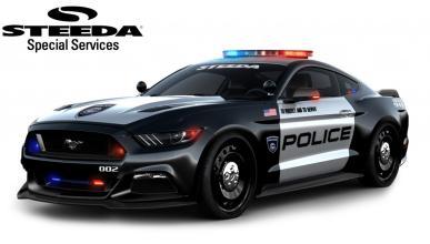 Ford Mustang policia steeda
