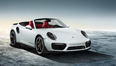 Porsche Exclusive 911 2015 turbo cabrio blanco