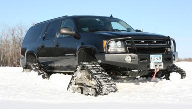 Chevrolet Suburban kit de Mattracks