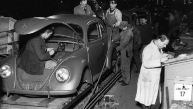 70 años de la producción en masa del VW Escarabajo