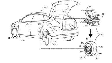 2 vehículos en uno, la última patente de Ford
