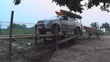 Hay que tener narices para meter ahí el coche