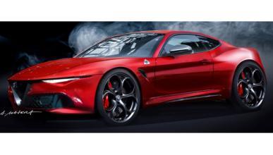Nuevo 'render' del Alfa Romeo Coupé